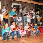 Chick Rose School of Bluegrass - Photo by Nancy Bay