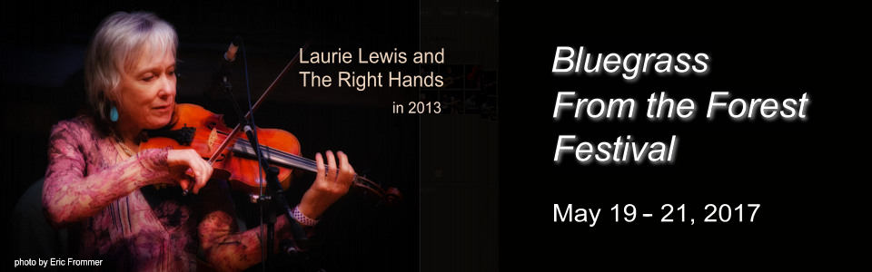 Laurie Lewis & the Right Hands performing in 2013