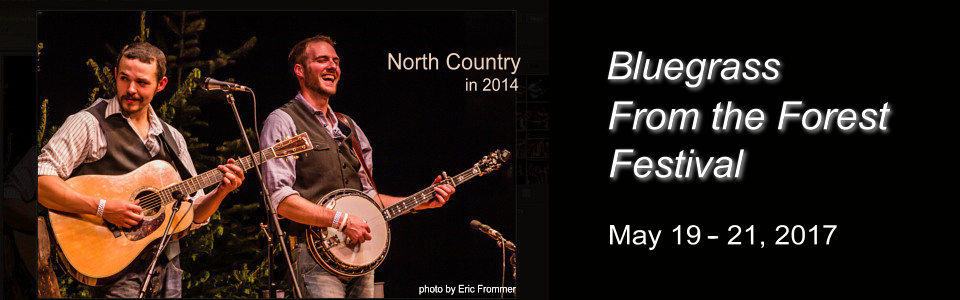 North Country Bluegrass Band in 2014