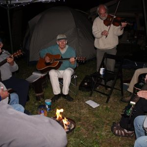 Jam session at Bluegrass from the Forest