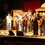 Musicians join Flame Keeper at Bluegrass from the Forest