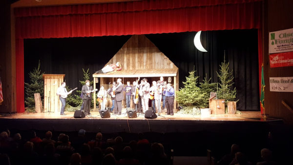 Shelton High School Auditorium Stage