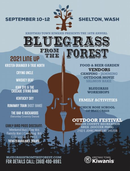 Bluegrass From the Forest Poster