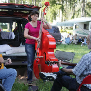 Camping & Jamming at Bluegrass from the Forest