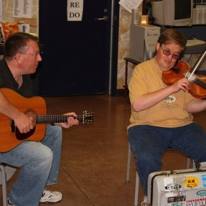 Fiddle Workshop with Michael Cleveland & Tom Adams