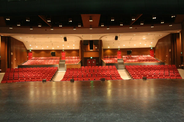 Shelton High School Auditorium seating