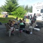Camping and jamming at Bluegrass from the Forest